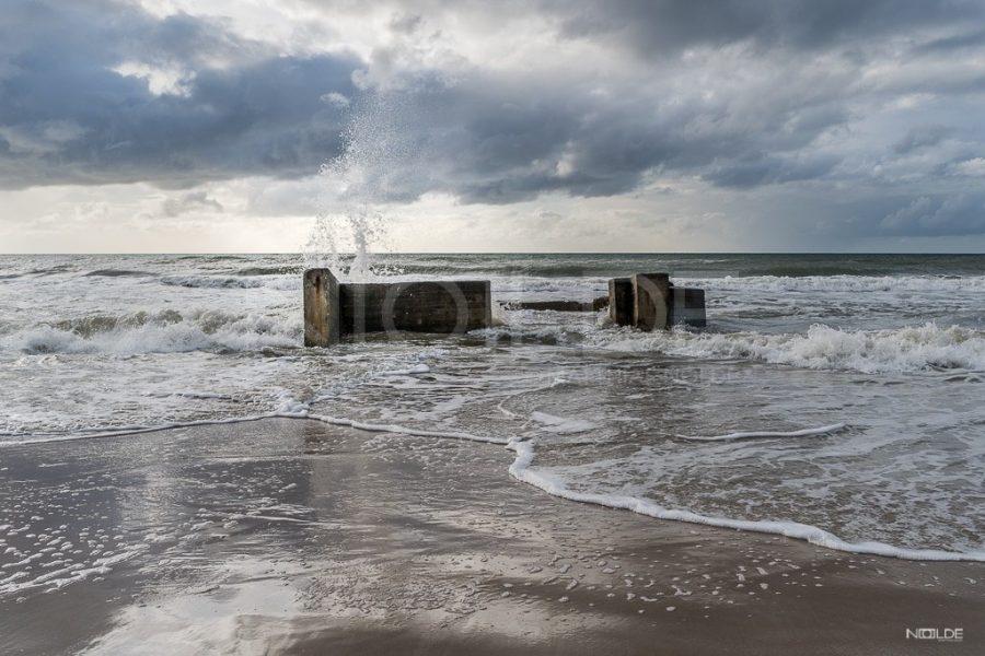 Bunker am Strand von Lökken