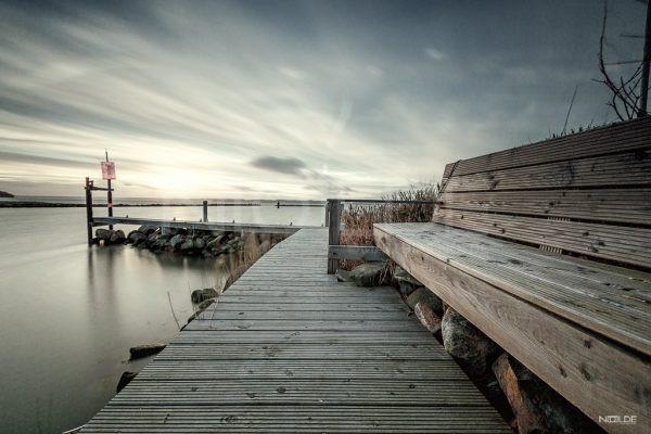 Hafen von Schausende an der Flensburger Förde