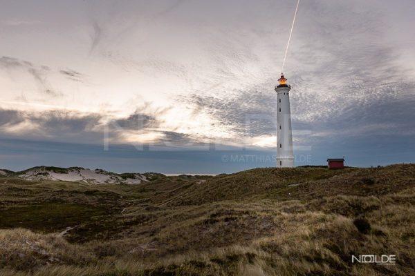 Wandbild Leuchtturm Lyngvig Fyr